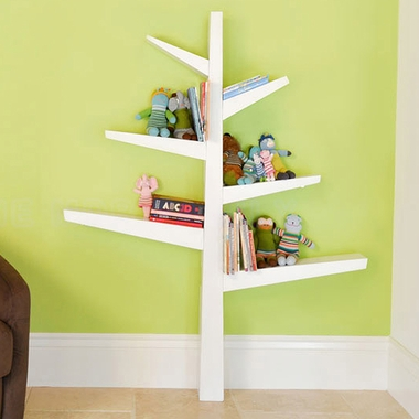 Storkcraft Nursery Furniture Babyletto Spruce Tree Bookcase in White FREE SHIPPING - $179.99