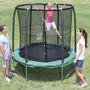 Bazoongi Kids Bazoongi 7.5' Trampoline With Enclosure