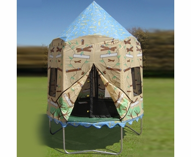 Bazoongi Kids Treehouse Trampoline Tent