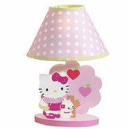 Bedtime Originals Hello Kitty & Puppy Lamp with Shade