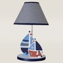 Bedtime Originals Sail Away Lamp w/Shade & Bulb by Lambs & Ivy