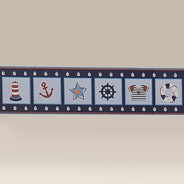 Bedtime Originals Sail Away Wallpaper Border by Lambs & Ivy