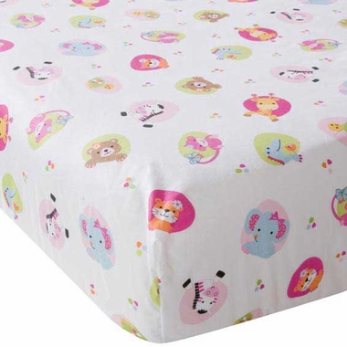 Bedtime Originals Tutti Frutti  Crib Sheet by Lambs & Ivy