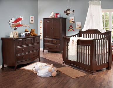 Bella Convertible Crib Collection