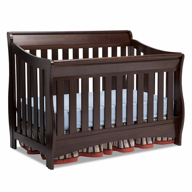 Delta Bentley 'S' Series 4-in-1 Crib in Chocolate - Click to enlarge