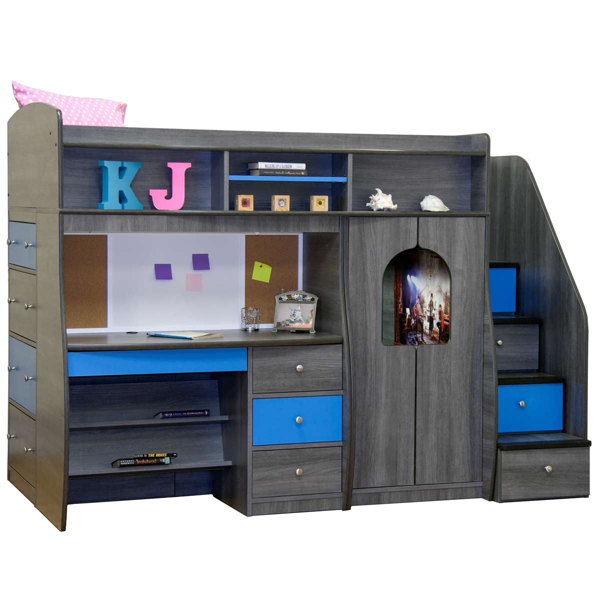 Berg Furniture Play & Study Fun Center Play Study & Storage with