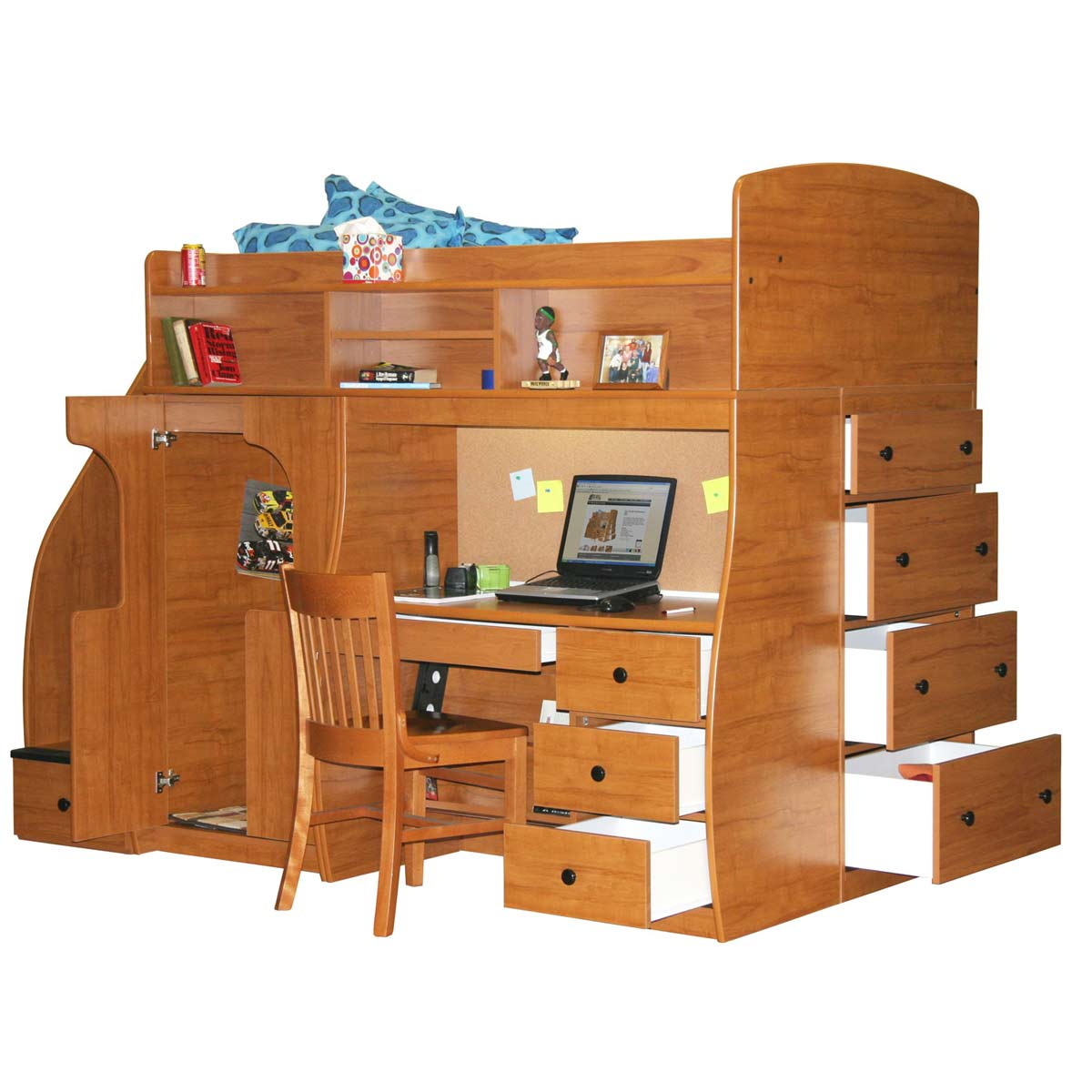 Berg Furniture Play U0026 Study Fun Center Play, Study U0026 Storage With 4 Stairs  FREE SHIPPING