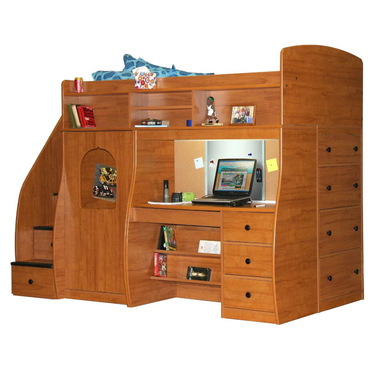 Berg Furniture Play Study Fun Center Play Study Storage With 4