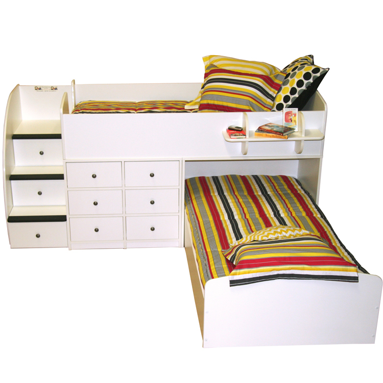 Berg Furniture Sierra Captain s Full over Twin Bed for Two with Stairs FREE  SHIPPING. Berg Furniture Sierra Captain s Full over Twin Bed for Two with