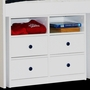 Berg Furniture Utica Lofts Four Drawer Dresser