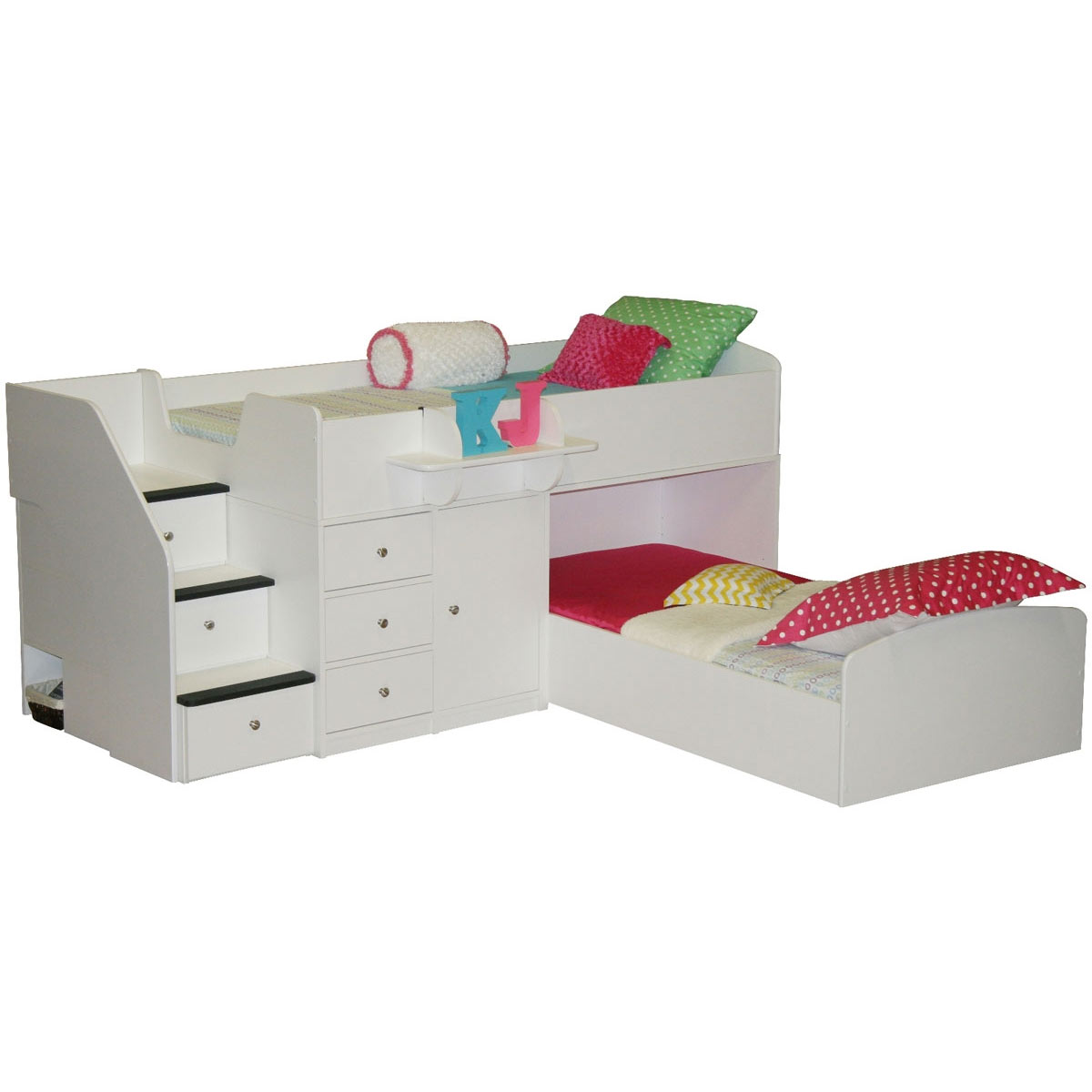 berg furniture sierra twin over twin bed for two free shipping