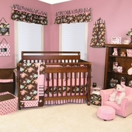 Blossoms Crib Bedding Collection by Trend Lab