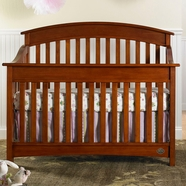 Bonavita Casey Convertible Crib in Chestnut