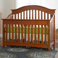 Bonavita Easton Convertible Crib in Chestnut