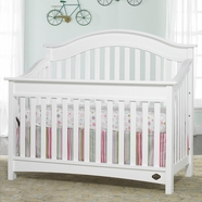 Bonavita Easton Convertible Crib in Classic White