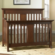 Bonavita Harper Lifestyle 4 in 1 Convertible Crib in Chocolate