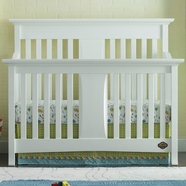 Bonavita Harper Lifestyle 4 in 1 Convertible Crib in Classic White