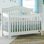 Bonavita Kinsley Convertible Crib in Classic White