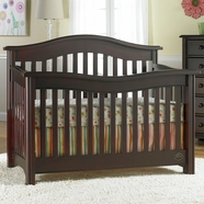 Bonavita Kinsley Lifestyle 4 in 1 Convertible Crib in Classic Cherry