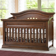 Bonavita Sheffield Lifestyle Crib Dark Walnut