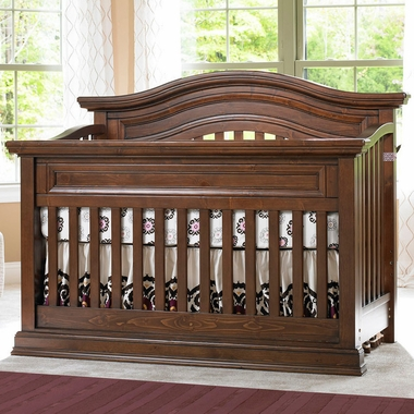 Bonavita Sheffield Lifestyle Crib in Dark Walnut - Click to enlarge
