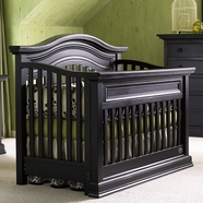 Bonavita Sheffield Lifestyle Crib Distressed Black