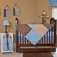 Boy Blue Crib Bedding Collection by Pam Grace Creations