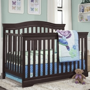 Broyhill Kids Bowen Heights Crib in Espresso