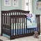 Broyhill Kids Bowen Heights 4-in-1 Convertible Crib in Espresso