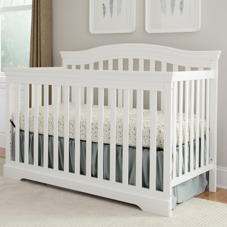 Broyhill Kids Bowen Heights 4 In 1 Convertible Crib White Free Shipping