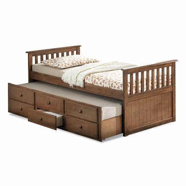 Broyhill Kids Marco Island Twin Captain Bed With Trundle