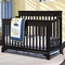 Broyhill Kids Messina 4-in-1 Convertible Crib in Espresso