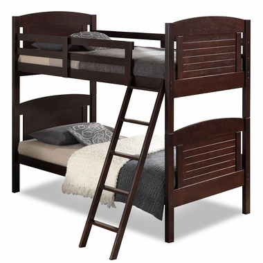 Broyhill Kids Nantucket Twin Bunk Bed In Espresso FREE SHIPPING