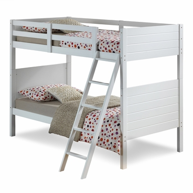 Broyhill Kids Palm Bay Twin Bunk Bed In White FREE SHIPPING