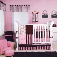 Bubblegum Crib Bedding Collection by Trend Lab