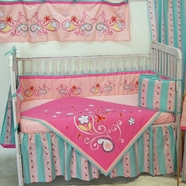 Butterfly Paisley Crib Bedding Collection