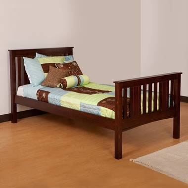 Canwood Base Camp Twin Bed In Espresso Free Shipping 219 95