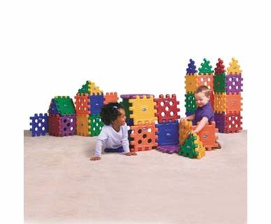 CarePlay 48 Piece Grid Blocks Set