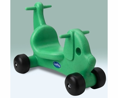 CarePlay Puppy Ride-On in Green