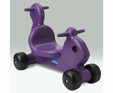 CarePlay Squirrel Ride-On in Purple
