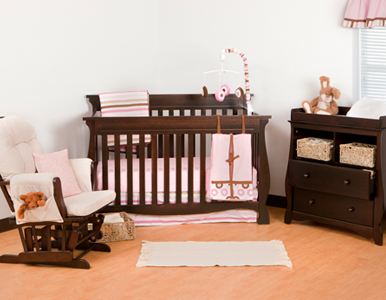 Carrara Convertible Crib Collection