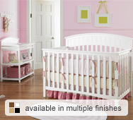 Charleston Convertible Crib Collection by Graco Cribs