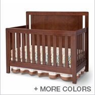 Chevron Crib Collection by Simmons Kids