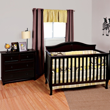 Delightful Child Craft 2 Piece Nursery Set   Camden 4 In 1 Convertible Crib And