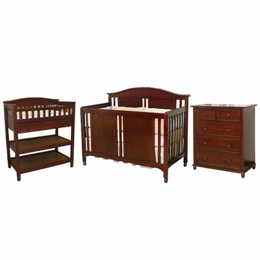 Child Craft 3 Piece Nursery Set Watterson Convertible Crib Changing Table And Single Dresser
