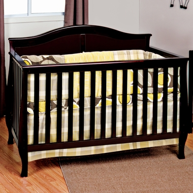Child Craft Camden 4 in 1 Convertible Crib in Jamocha FREE