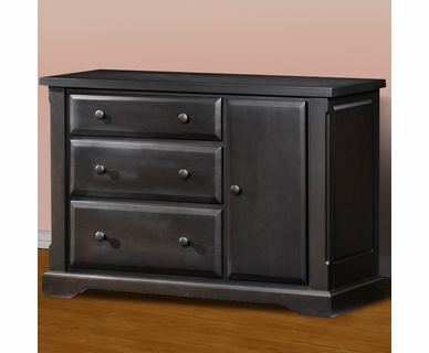 Child Craft Hawthorne Dressing Bureau in Espresso