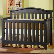 Child Craft Hawthorne Lifetime Crib in Espresso