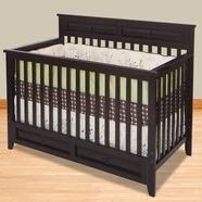 Child Craft Lifetime Convertible Crib in Jamocha