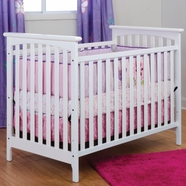 Child Craft Monterey Stationary Crib in White